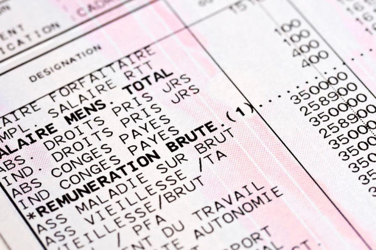 Connu Bulletin de paie simplifié - Modèle gratuit de lettre WO99