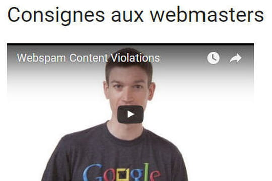 SEO : Google a mis à jour ses consignes