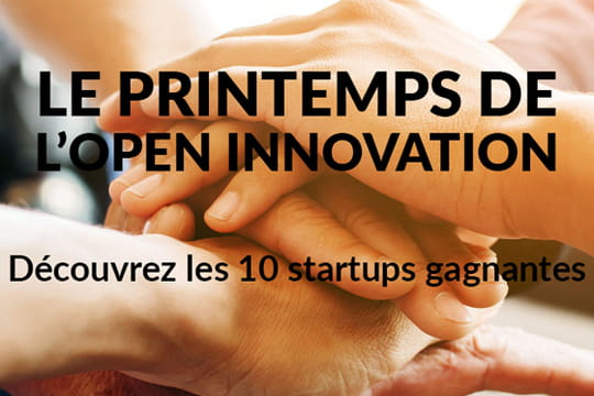 Top 10des start-up françaises de l'Open Innovation