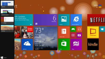 capture de windows 8.