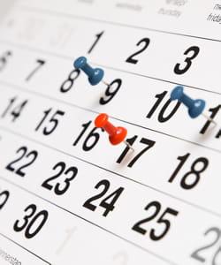 construisez votre programme en partant de la date limite.