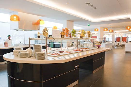 Siège BNP Paribas Cardif : restaurant