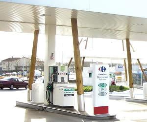 le prix du gazole dans les stations carrefour a baissé de 2,69% en 2009.