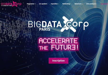 Le Big Data Paris 2019 : se tiendra les 11 et 12 mars
