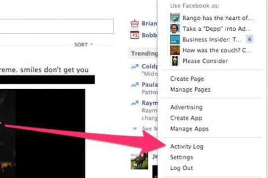 Comment effacer vos recherches sur Facebook ?