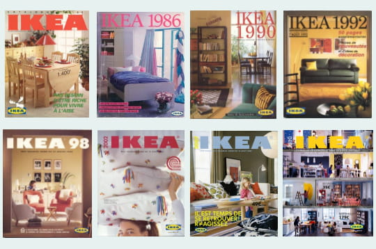 la catalogue ikea f te ses 60 ans. Black Bedroom Furniture Sets. Home Design Ideas