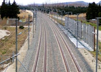 il y a un peu plus de 1 800 kilomètres de ligne à grande vitesse en france.