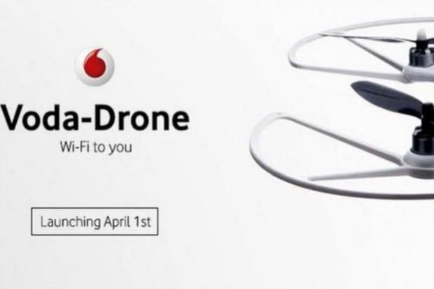 Vodafone propose un drone pour apporter du réseau mobile en Australie