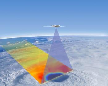 le drone chasseur de cyclones.