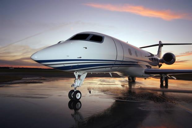 Un avion aux dimensions considérables