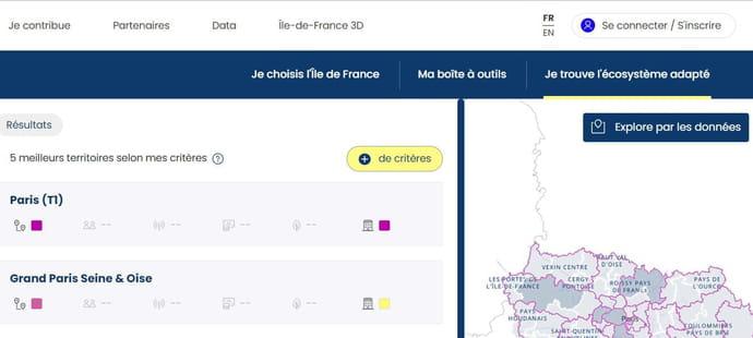 La plateforme de services de l'Ile-de-France déborde de données mais manque d'utilisateurs