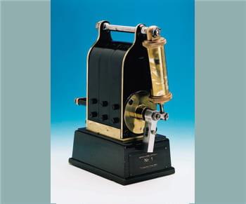 le premier magneto de bosch fut fabriqué par le fondateur de l'entreprise.