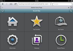 novell vibe fonctionne sous windows avec les navigateurs internet explorer 6.0