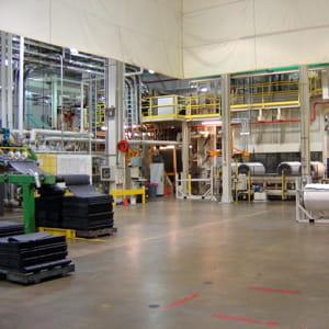 l'atelier de fabrication de michelin à clermont-ferrand.
