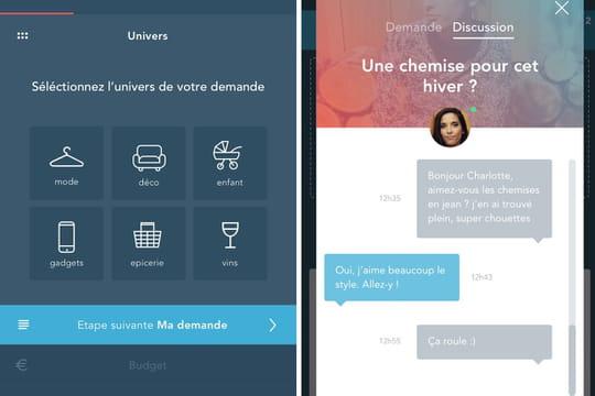 Teeps sera la première app française de commerce conversationnel