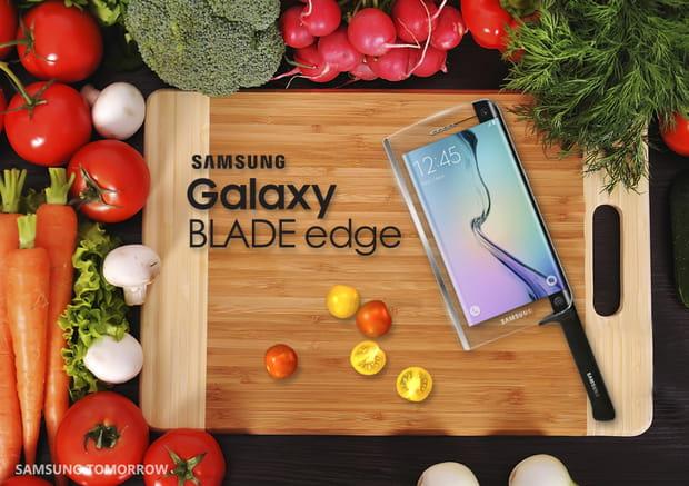 Le téléphone hachoir de Samsung