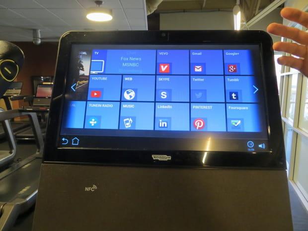 Des machines équipées d'écrans