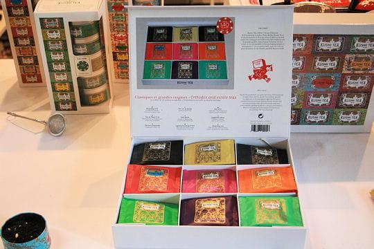 Un choix de thés colorés