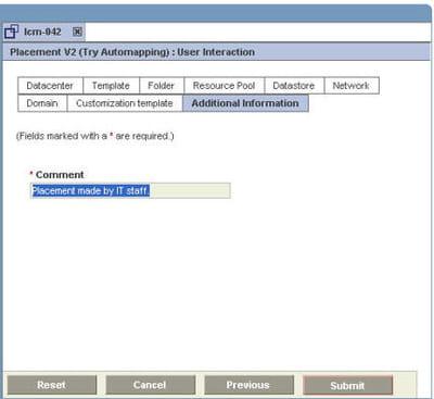 l'administrateur peut placer la machine virtuelle sur le serveur.