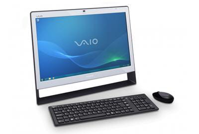 le sony vaio vpcj12m1e, ordinateur de bureau tout-en-un.