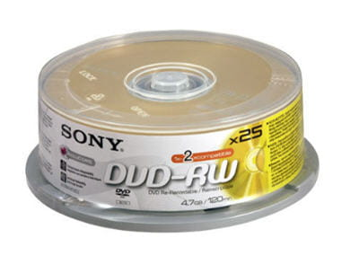 exemple de dvd vierges