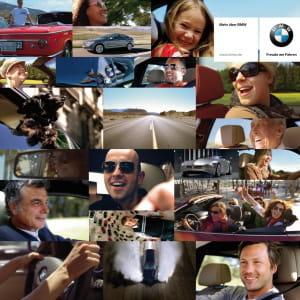 dans sa dernière campagne de publicité, bmw vante l'émotion de la conduite