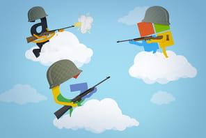 Amazon, Google, Microsoft... Qui va gagner la guerre du multicloud?