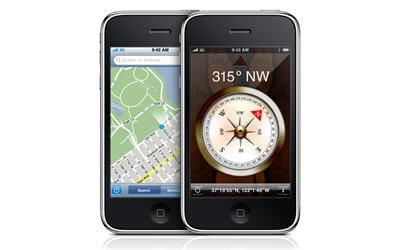 iphone 3g s et sa boussole intégrée