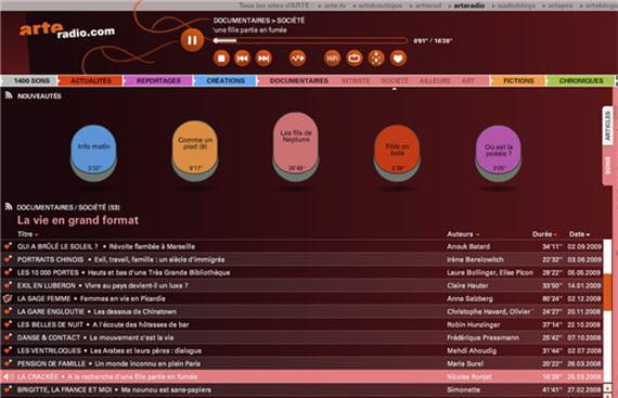 Web radio Arte