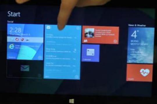 Des tuiles interactives à nouveau pressenties pour Windows 9