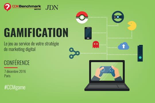 """La conférence """"Gamification"""" aura lieu le 7décembre"""