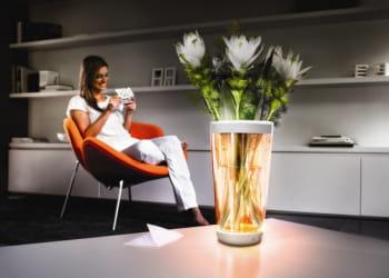 vase lumiware de philips, 109euros.