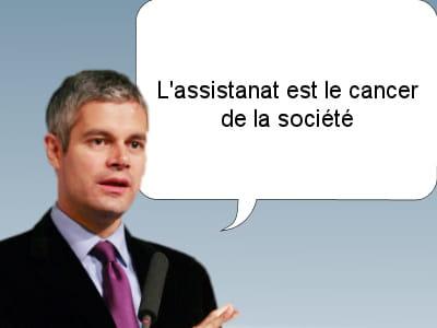 laurent wauquiez,ministre des affaires européennes, le 8 mai 2011.