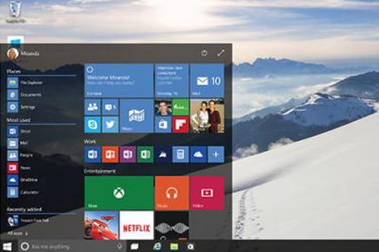 Windows 10 intègre la reconnaissance faciale