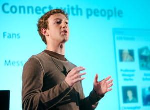 mark zuckerberg, fondateur et pdg de facebook