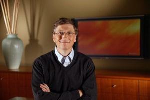 bill gates, le milliardaire le plus célèbre du monde.