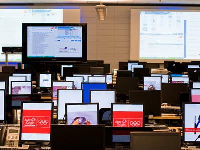 le centre des opérations technologiques des jo de vacouver a été mis en place
