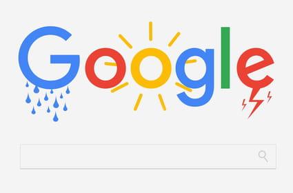 Météo Google en France: toujours plus de questions et de réponses dans les SERP