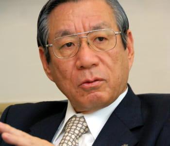 haruka nishimatsu, président de la compagnie aérienne japan airlines (jal).