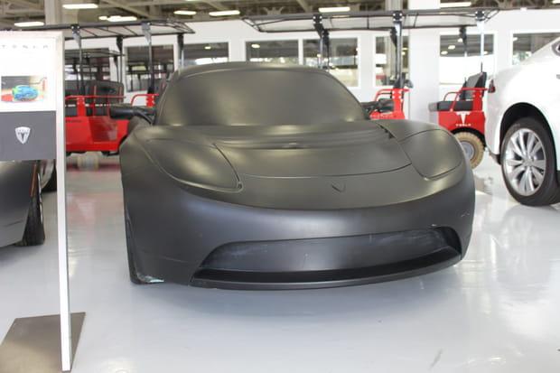 Une maquette de la Roadster