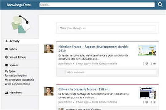 Knowledge Plaza : le réseau social d'entreprise mise sur le responsive webdesign