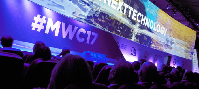 Quatre grandes tendances business repérées au MWC 2017