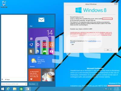 nouveau menu démarrer windows 9