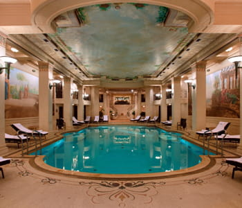 la piscine du ritz health club.
