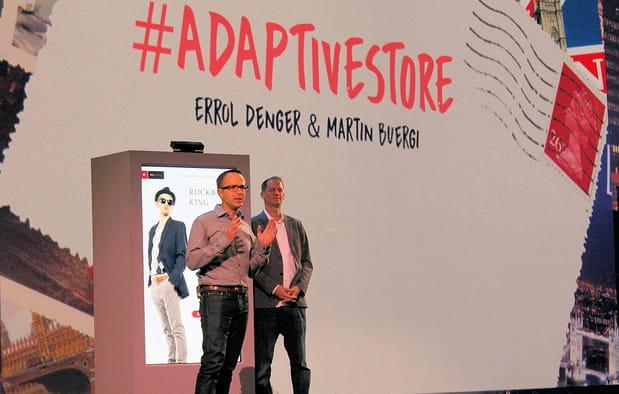 Premier sneak peek : l'Adaptive Store