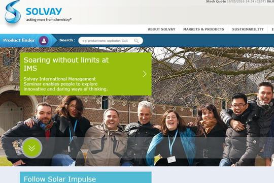 Solvay veut mieux utiliser les outils collaboratifs pour gagner en efficacité