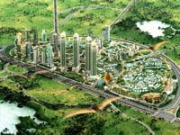 estimé à 95 milliards de dollars, ce projet de ville nouvelle a été abandonné.