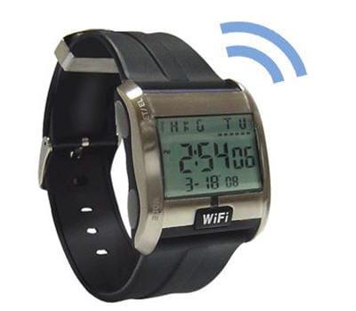 la montre scanner wi-fi