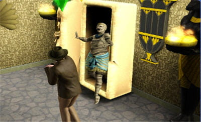 les sims, sur les traces d'indiana jones