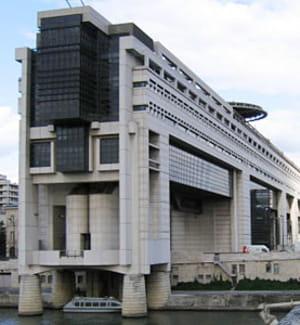 le ministère de l'economie, à bercy.